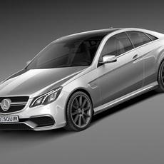Mercedes-Benz E63 AMG Coupe 2016 3D Model