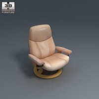 Ambassador Chair 3D Model