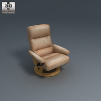 Atlantic Chair 3D Model