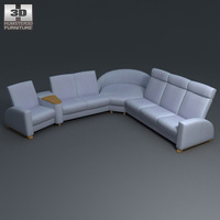 Arion Corner Sofa 3D Model