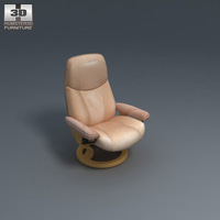 Consul Chair 3D Model