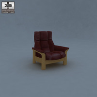 Buckingham Armchair 3D Model