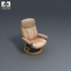 Diplomat Armchair 3D Model