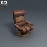 Memphis armchair 3D Model