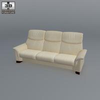 Paradise 3-seat sofa 3D Model