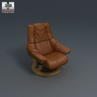 Reno Armchair 3D Model