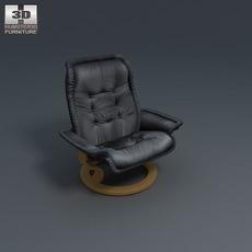 Royal Armchair 3D Model