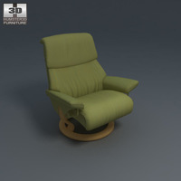 Spirit Armchair 3D Model