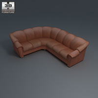 Stockholm Corner Sofa 3D Model