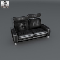 Space Loveseat 3D Model