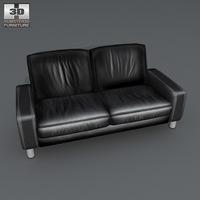 Space 2 seat sofa 3D Model