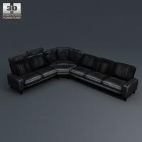 Space corner sofa 3D Model