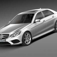 Mercedes-Benz E-Class AMG Sedan 2016 3D Model