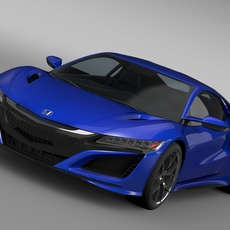 Honda NSX 2016 3D Model