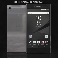 Sony Xperia Z5 Premium Chrome 3D Model
