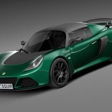 Lotus Exige Sport 350 2016 3D Model