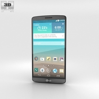 LG G3 Metallic Black 3D Model