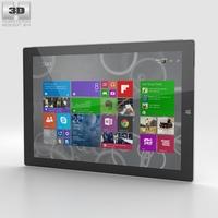 Microsoft Surface Pro 3 3D Model