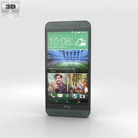 HTC One (E8) Black 3D Model