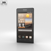Huawei Ascend G6 Black 3D Model