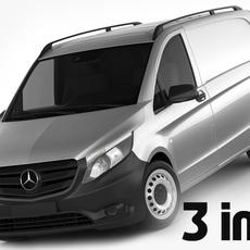 Mercedes Vito Panel Van 2016 3D Model