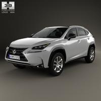 Lexus NX Hybrid 2014 3D Model