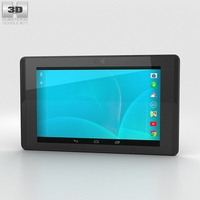 Google Project Tango Tablet Black 3D Model
