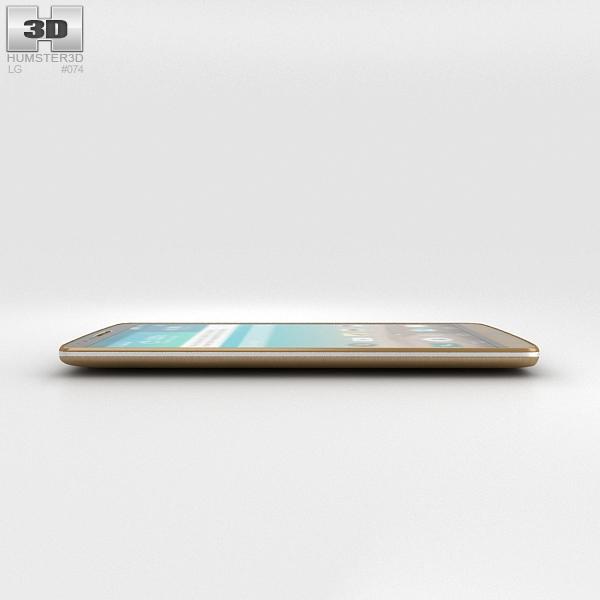 LG G3 Shine Gold 3D Model