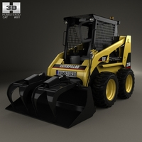 Caterpillar 226B Skid Steer Loader 2014 3D Model