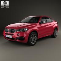BMW X6 (F16) M sport package 2014 3D Model