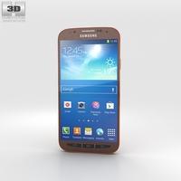 Samsung Galaxy S4 Active Orange Flare 3D Model