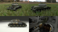 T-34/85 Interior/Engine Bay Full HDRI 3D Model
