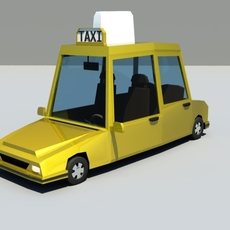 Cartoon Taxi 1.0.0 for Maya