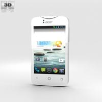 Acer Liquid Z3 Classic White 3D Model