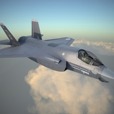 Lockheed Martin F-35B Lightning II 3D Model