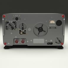 Old Military Radio 3D Model