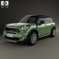 Mini Cooper Countryman SD All4 2014 3D Model