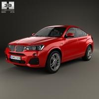 BMW X4 M Sport Package (F26) 2014 3D Model