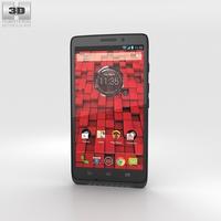Motorola Droid Maxx Black 3D Model