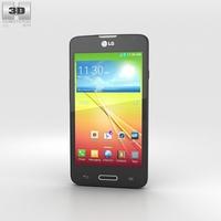 LG L65 Black 3D Model
