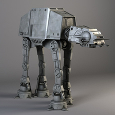 Star Wars AT-AT Walker 3D Model