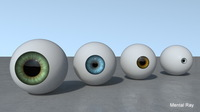 Eye - Procedural shader 1.3.3 for Maya