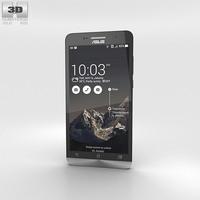 Asus Zenfone 6 Charcoal Black 3D Model