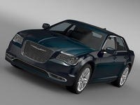 Chrysler 300 C LX2 2016 3D Model