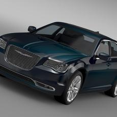Chrysler 300 C LX2 2016 3D Model
