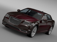 Chrysler 300 Limited LX2 2016 3D Model