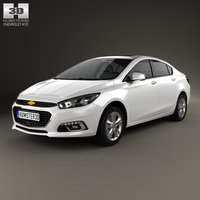 Chevrolet Cruze (CN) 2014 3D Model