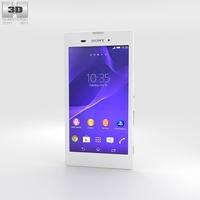 Sony Xperia T3 White 3D Model