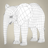 16 39 16 469 realistic low poly baby elephant 08 4
