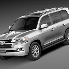 Toyota Land Cruiser 2016 3D Model